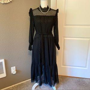 Pretty Black Dress with Details